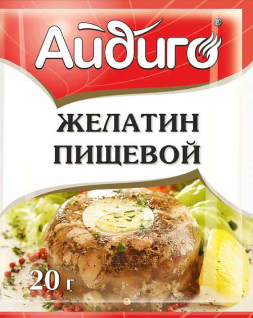 Пищевой желатин для ламинирования в упаковке